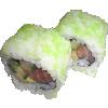 525. Sake wasabi maki